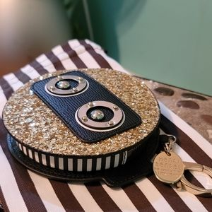 Henri bendel robot coin purse